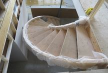 Stunning Staircases / Don't choose boring at home! Go with a custom, authentic staircase!