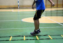 Баскетбол. Упражнения.