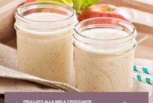 Frullati / Prova le nostre ricette per gustosi e nutrienti frullati a base di frutta e verdura. Ottimi per degli spuntini o pasti veloci.