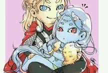 AVENGERS Thor x Loki