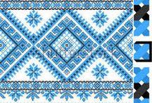 Kanaviçe geometrik desenler