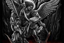 angel tattoo s