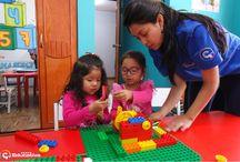 Nivel Early Learning 1 / Nuestros alumnos más pequeños en acción en su taller de Robótica
