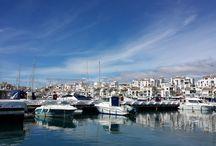 PUERTO BANÚS & MARBELLA FROM THE MEDITERRANEAN SEA / Views of Puerto Banús & Marbella from the sea.