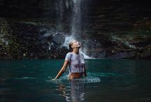 Exploring the waterfall / Исследование водопада