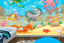 Foto Murales Infantiles / Fotomurales para decoracion del dormitorio de tu niñ@