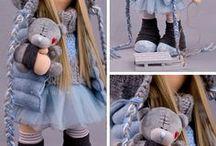 Textile Doll toys