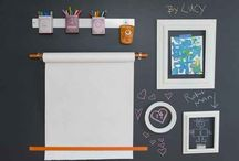 fun activity wall for kids