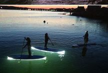 paddle boarding, diving, surfing...