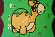 Pokemon clocks