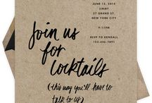 Invites / by Faith Sage Culinary Copywriter & Consultant