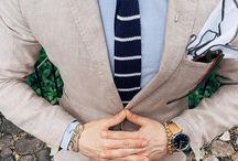 Krawatten mit Streifen / Ein Auszug aus unserem Sortiment der gestreiften Krawatten und tolle Stylingideen.