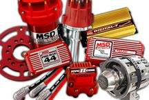 MSD Ignition / Multiple spark discharge (MSD) Ignition specializes in high-end ignition system and electrical components. The most popular ignition system works really well on all racing applications. Ignition coils, spark plug wires, coil packs, ignition controls and accessories are some of the best performing applications on your vehicle.