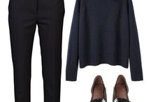 black polo neck outfit