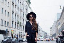 Look total black / Veja inspirações de como é fácil valorizar um look composto pela cor mais versátil da moda sem abrir mão da elegância!