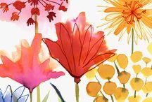 Watercolor / Watercolors acuarela