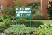 Colony Apartments / These affordable apartments, some in Cleveland and some in Shaker Heights, should be noted for their convenience. From the Colony Apartments you can walk a block and enjoy Shaker Square or you can stay at home and relax in your one or two bedroom apartment with carpet or refinished hardwood floors, ceramic tile bath, and fully equipped kitchens. One and two bedroom suites Heat and water included Dishwasher and disposal Hardwood, carpet and ceramic tile floors