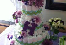 Diaper cakes / by April Rodriguez