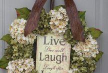 Wreaths / Outdoor wreaths for all seasons