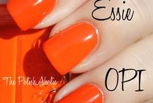 Orange&yellow polishes