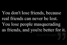 Quotes / Quotes about family, life, friendship...