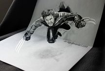 Some Of The Best Pencil 3D Drawings