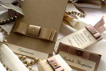 Ślub - zaproszenia i kolekcja ślubna Sofia / zaproszenia ślubne, dodatki ślubne, papeteria ślubna