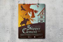 Design: plakater, poster, teater, theatre