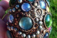 Decorative Eggs / Easter, Dragon Eggs, Faberge
