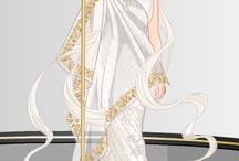 draw dress