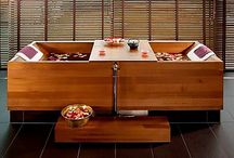 Japanese Bath Ceremony / Utter relaxation awaits you with Japan's centennial tradition of bathing, cultivated to restore physical and mental harmony.