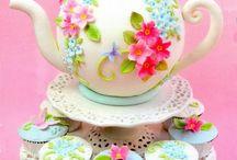 торт чайник