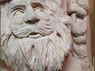 sculpturile in lemn