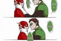Flash x Green Lantern