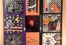 """Concurso LO Halloween / Por fin tenemos los tres Layouts finalistas de nustro concurso de Halloween! Ahora quedarán publicados en Facebook y en Pinterest. Los usuarios podrán votar sus layouts favoritos haciendo clic en """"Me gusta"""" en cada una de las fotos en cualquiera de las dos redes sociales.  http://endulze.com/noticia/32/concurso-de-layouts-halloween-2014.html Vamos, a votar! #Endulze #ConcursoLO #Halloween #Scrap"""