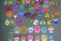 beads / kids bead projects - hama, perler, pyssla