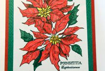 Handmade Cards / Handmade cards using rubber stamps, inks, watercolors, etc.