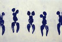 Yves Klein antrophometry