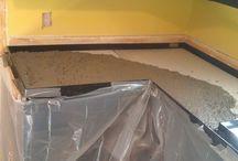 cement enter counter tops