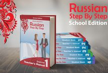 Teach Russian with School Edition / This board contains information about Russian Step By Step School Edition series.