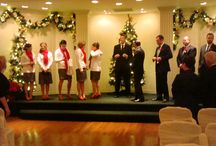 Christmas at The William Penn Inn / The amazing decorations at The William Penn Inn for your Wedding Reception or Holiday Celebration