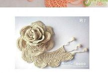 pretty crochet flowers
