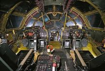 Cockpit of Enola Gay