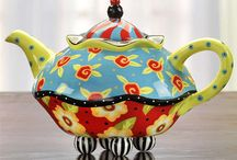 Tea pot-Cup tea