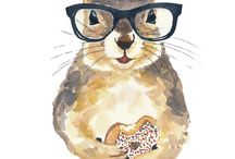 illustrations of Cute Furry Things