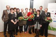 Unternehmerinnenpreis Düsseldorf, Frauenbande 2013 / Das Netzwerk Frauenbande, Initiatorin Dagmar Schulz 1a-STARTUP,  hat erstmalig den Düsseldorfer Unternehmerinnenpreis vergeben.