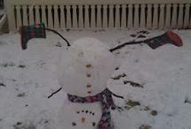 Snowmen / by Sandra Strickland