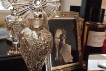 perfume bottles / by Corvus Noir