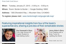 Going Supernova Book Signings! / Going Supernova: The Bold Paths of 101 Superachievers Book Signings! / by Molly Lavik