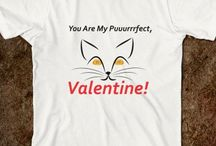 Funny Valentine's Shirts / Want to wear something funny & adorable this Valentine? Pick one of these designs and you're guaranteed to at least steal some smiles...